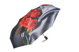 Skládací deštník SW16012 šedá rukojeť