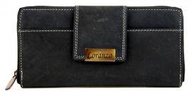 Dámská kožená peněženka LORANZO 952 černá