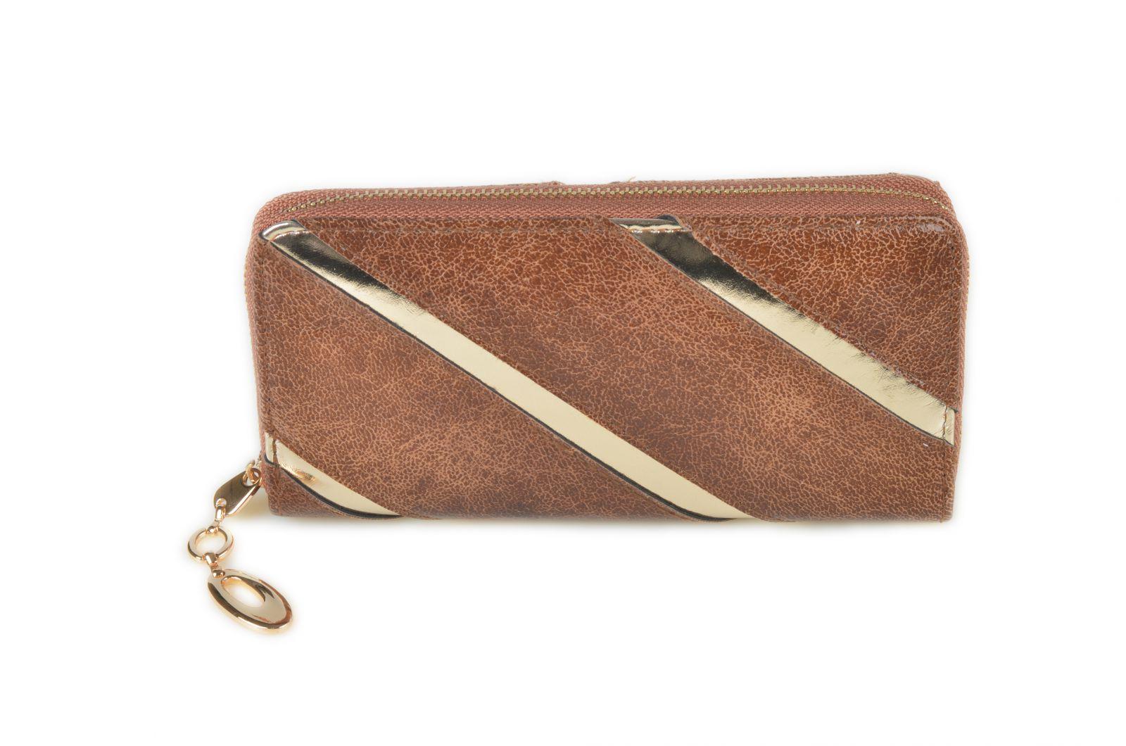 Dámská peněženka ESLEE 1-310 khaki E-batoh