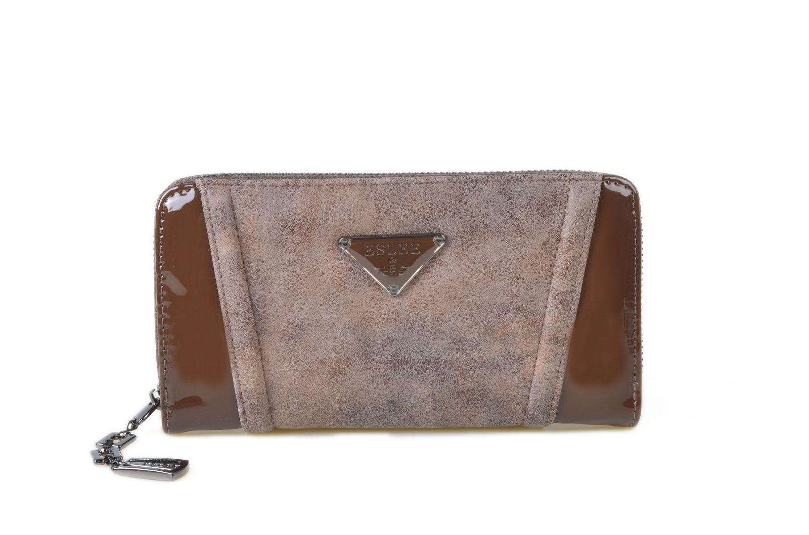 Dámská peněženka ESLEE 6656 coffee E-batoh