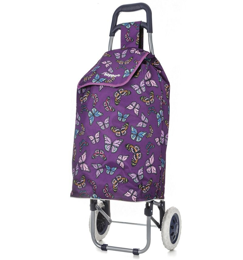 Nákupní taška na kolečkách HOPPA ST-105 - fialová