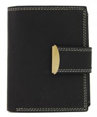 Celokožená pánská peněženka WILD 962 černá