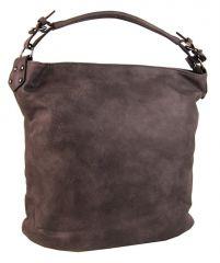 Velká tmavě hnědá kabelka na rameno OS0004