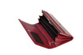 Dámská kožená peněženka v krabičce Cossroll C09-5242 sp hnědá E-batoh