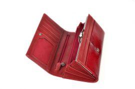 Dámská kožená peněženka v krabičce Cossroll 02-5242 černá E-batoh