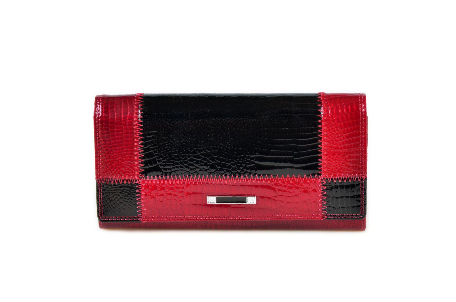 Dámská kožená peněženka Cossroll 05-5242 z červená