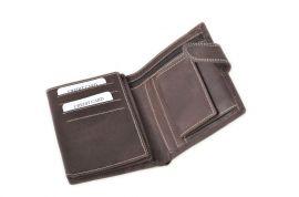 Celokožená pánská peněženka WILD 980 černá E-batoh