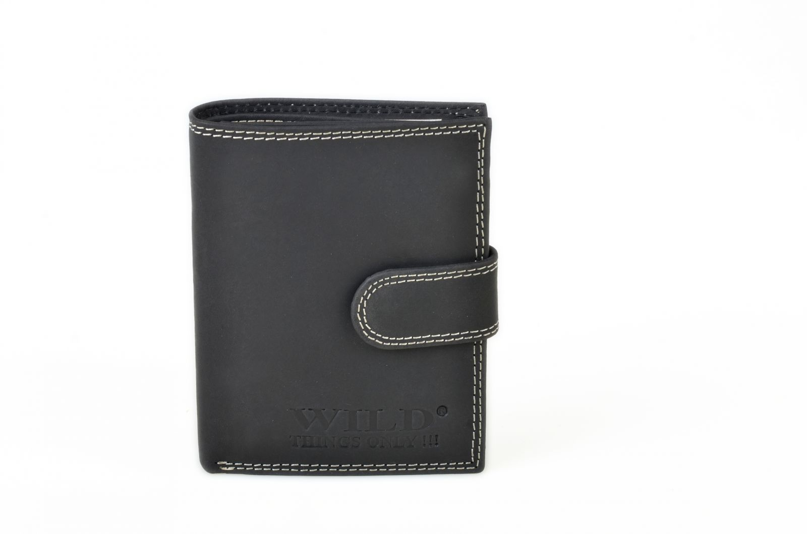 Celokožená pánská peněženka WILD 980 černá