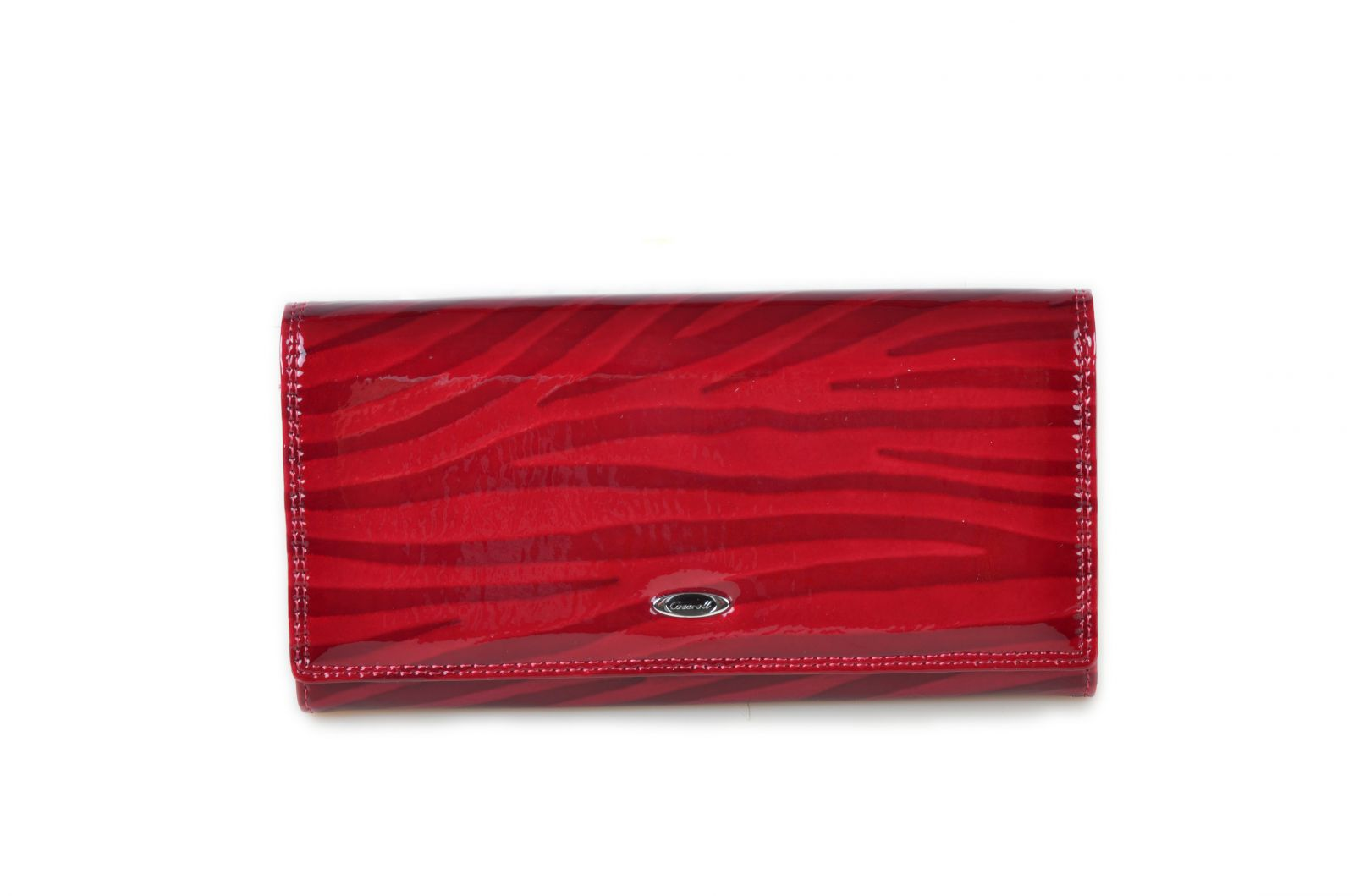 Dámská kožená peněženka v krabičce Cossroll E13-5242 červená