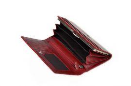 Dámská kožená peněženka v krabičce Cossroll E13-5242 červená E-batoh