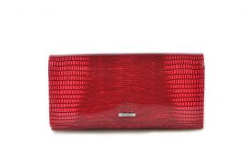 Dámská kožená peněženka v krabičce Cossroll C09-5242 sp červená