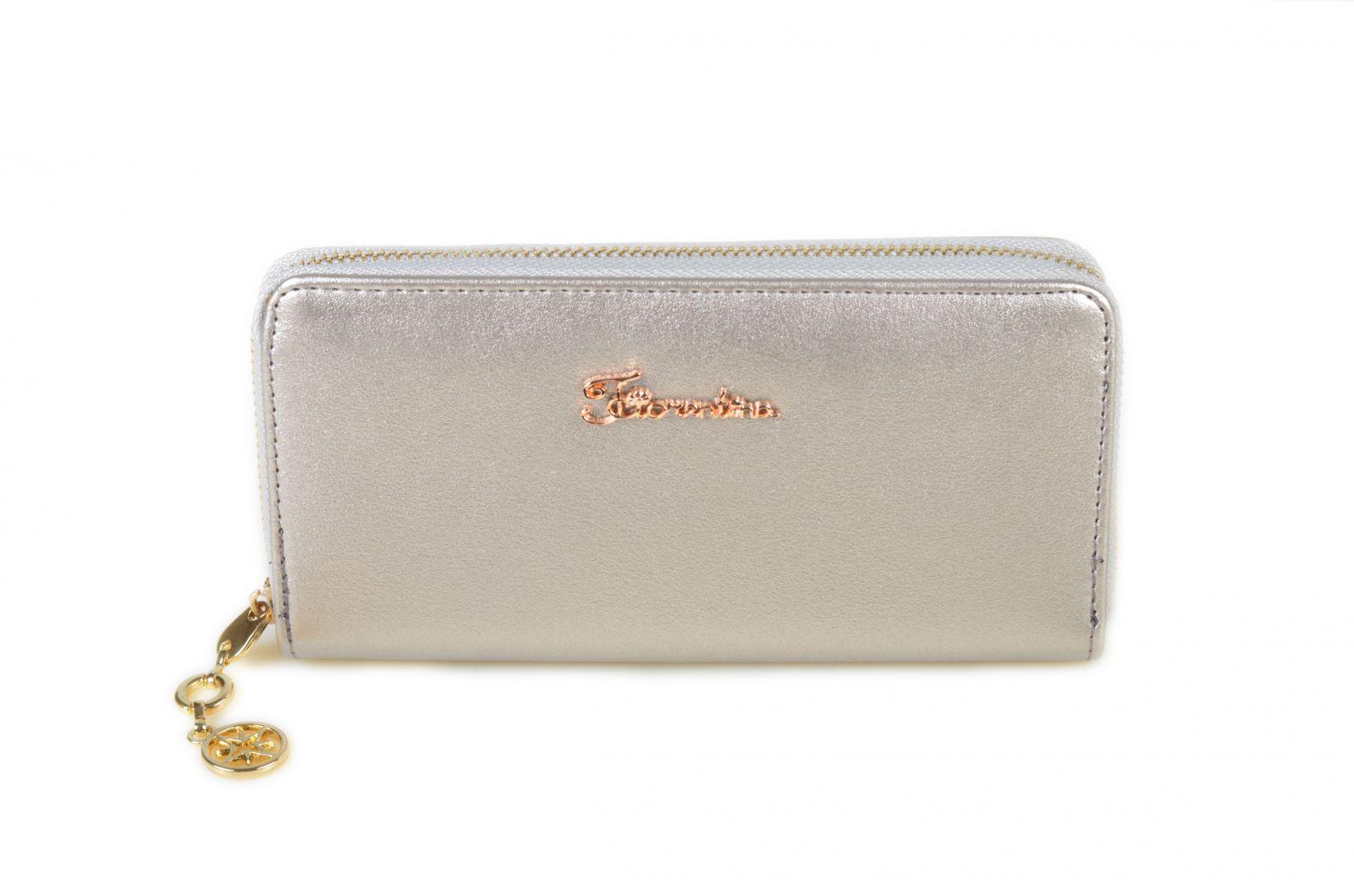 Dámská peněženka Fiorentina 1-307-L silver E-batoh