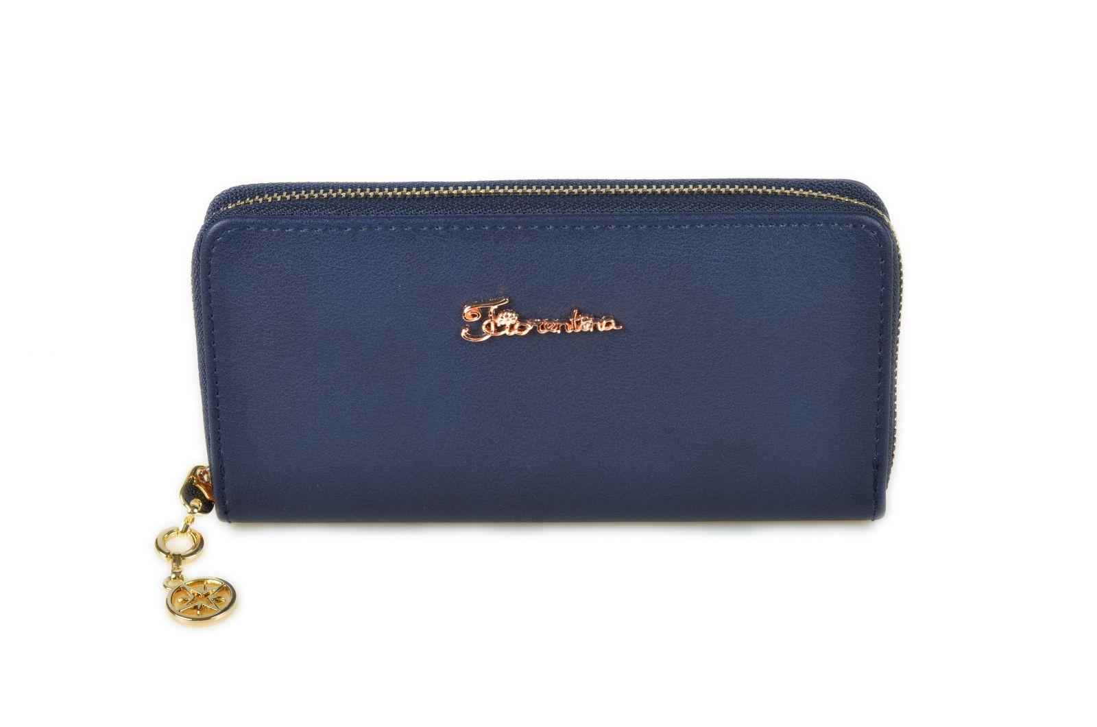 Dámská peněženka Fiorentina 1-307-L blue E-batoh