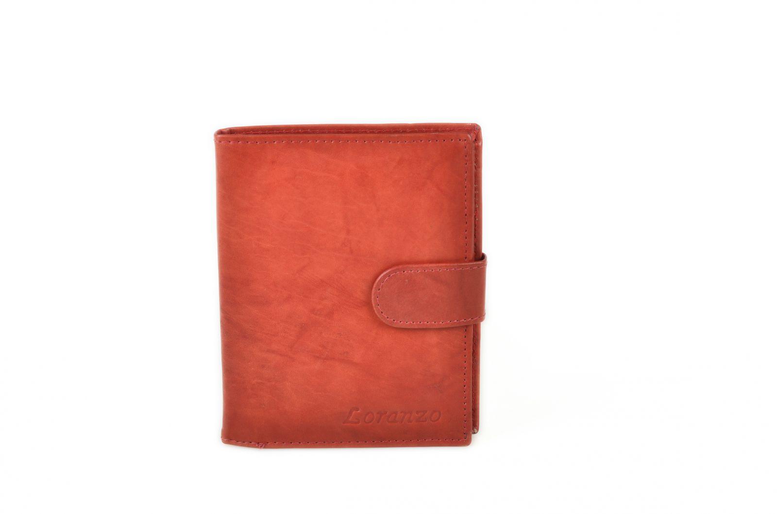 Pánská kožená peněženka Loranzo 492 světlohnědá