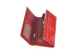 Dámská kožená peněženka v krabičce Cossroll E18-5242 RED E-batoh