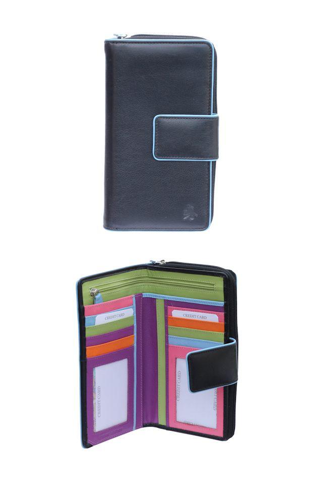 Peněženka Carraro Neon 856-NN-01 černá