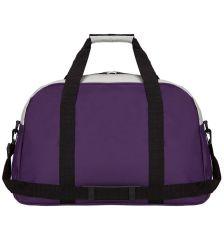 Cestovní taška ICE 7558 - fialová/stříbrná AZURE E-batoh