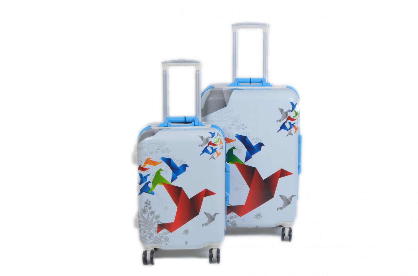 Cestovní kufry dvojsada ABS BL-A29E E-batoh