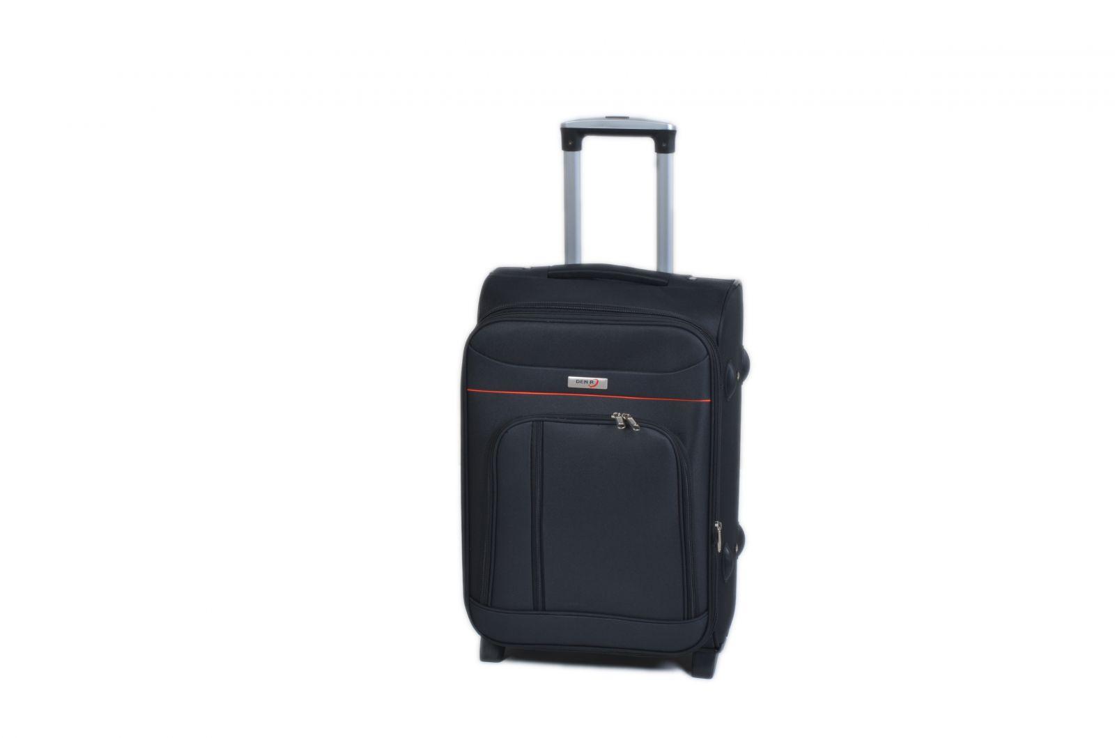 Trolley-CASE TC-B887 malý černý E-batoh