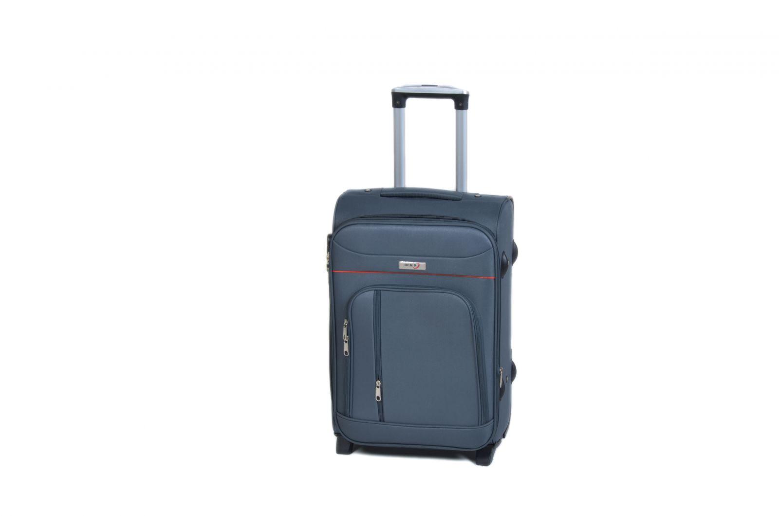 Trolley-CASE TC-B887 malý šedý E-batoh