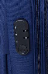 Trolley-CASE TC-B887 střední modrý E-batoh