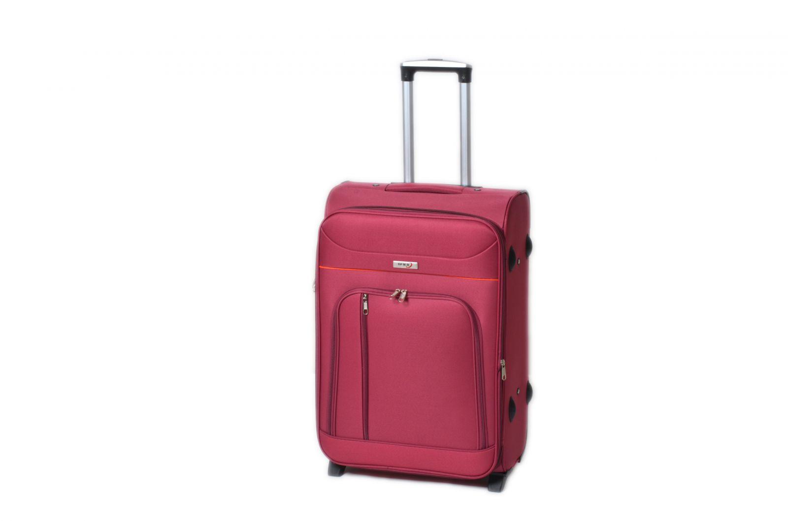 Trolley-CASE TC-B887 střední červený E-batoh