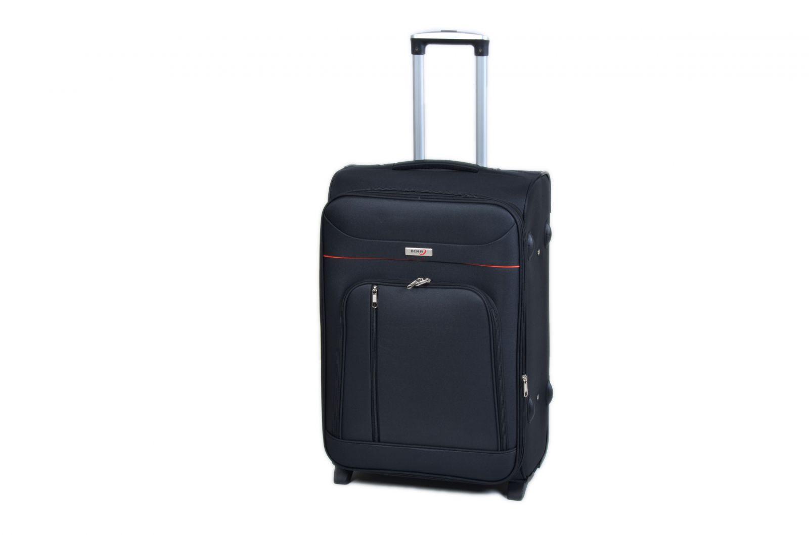 Trolley-CASE TC-B887 střední černý E-batoh