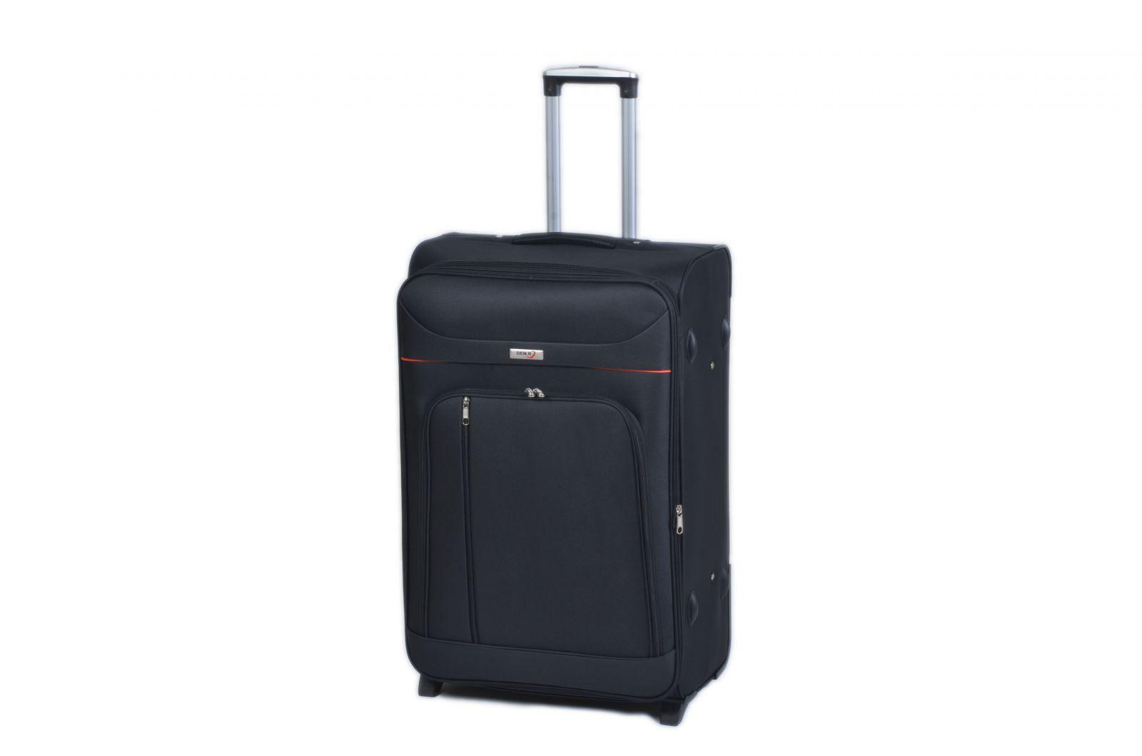 Trolley-CASE TC-B887 velký černý E-batoh