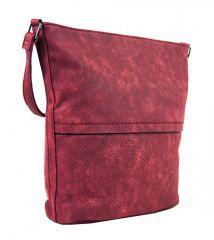 Dámská broušená crossbody kabelka 16010 červená Tapple E-batoh