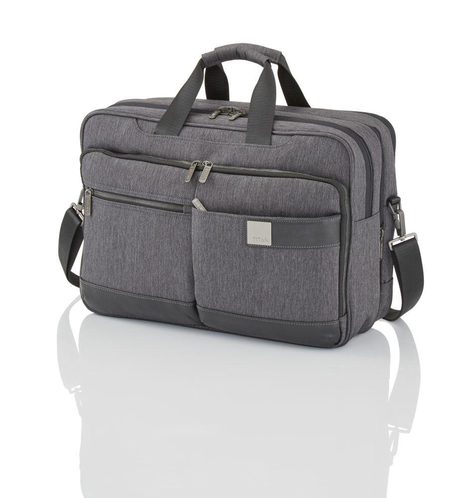 Titan Power Pack Laptop Bag L Anthracite
