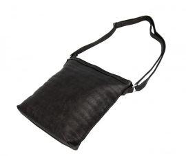 Tmavá antracitová metalická prošívaná kabelka R649 Tapple E-batoh