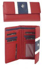 Peněženka dámská BHPC Colours BH-362-02 červená