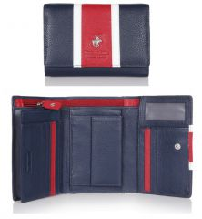 Peněženka dámská BHPC Colours BH-364-05 modrá