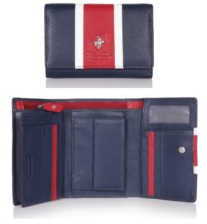 Peněženka dámská BHPC Colours BH-364-02 červená