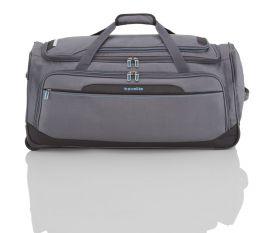Cestovní taška Travelite CrossLITE Wheeled duffle L Anthracite E-batoh