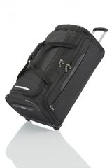Travelite CrossLITE Wheeled duffle L Black