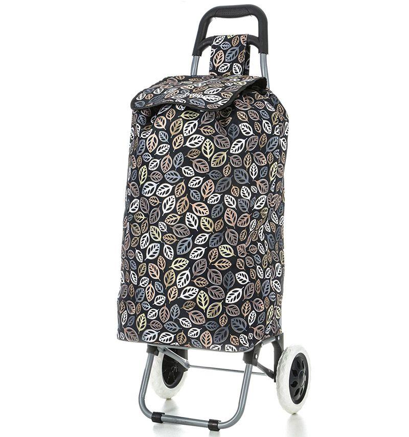 Nákupní taška na kolečkách HOPPA ST-195 - černá
