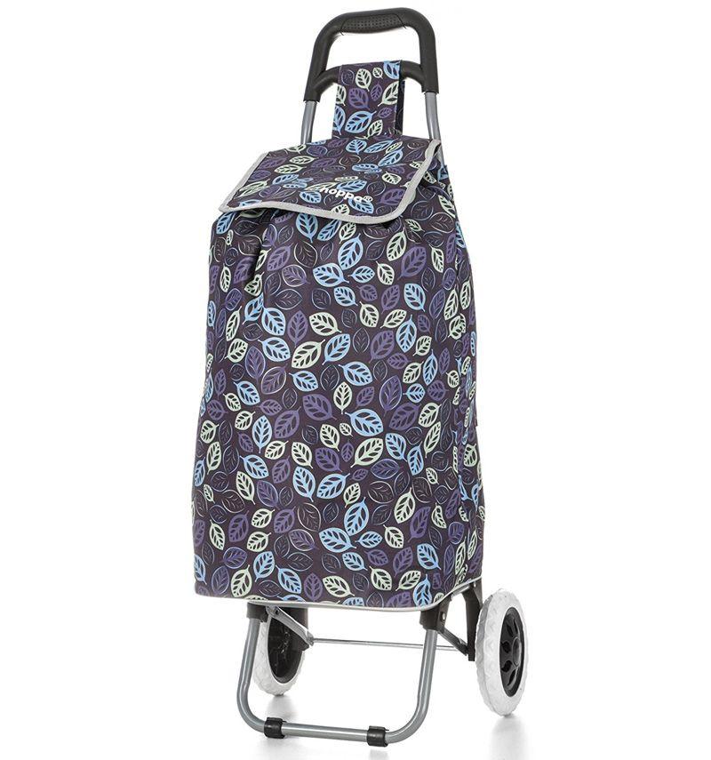 Nákupní taška na kolečkách HOPPA ST-195 - fialová