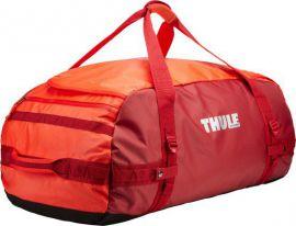 Thule Chasm 90 l cestovní taška CHASM90RO - oranžová/červená