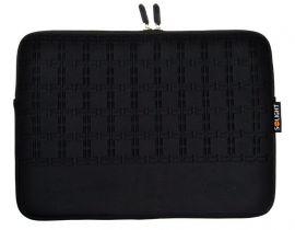 Solight neoprenové pouzdro na tablet nebo netbook do 10'', se vzorem, černé