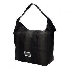 Monnari Krásná grafitová kabelka do ruky - BAG A590-017 J16