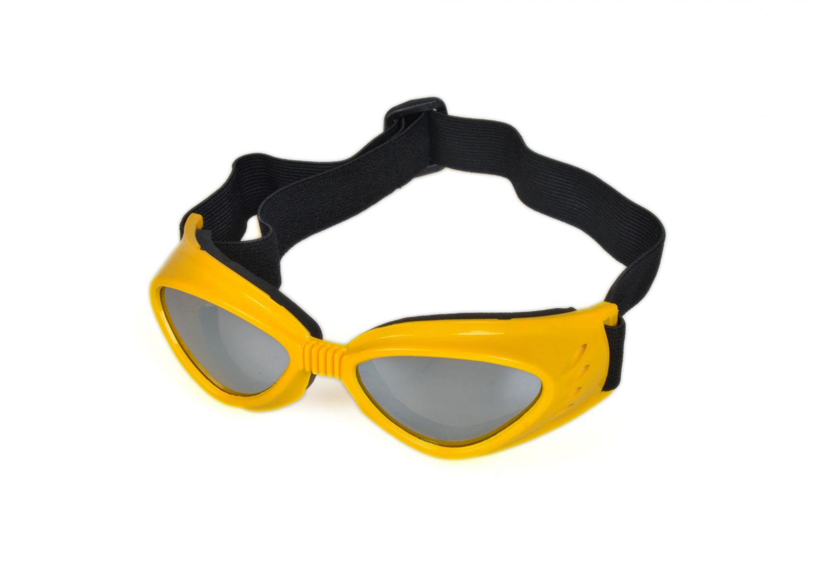 Brýle na snowboard a lyžovaní SPS0007 žluté E-batoh
