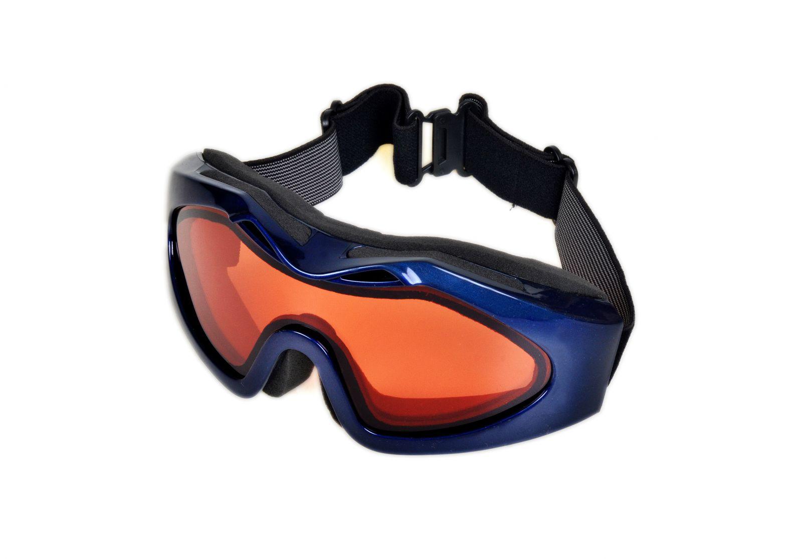 Brýle na snowboard a lyžovaní SPS0018 CAT.2 modré UV400 E-batoh