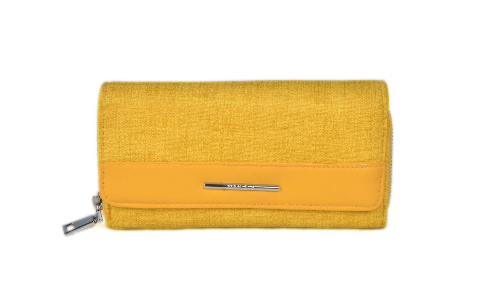 Dámská peněženka ESLEE 3010 yellow E-batoh