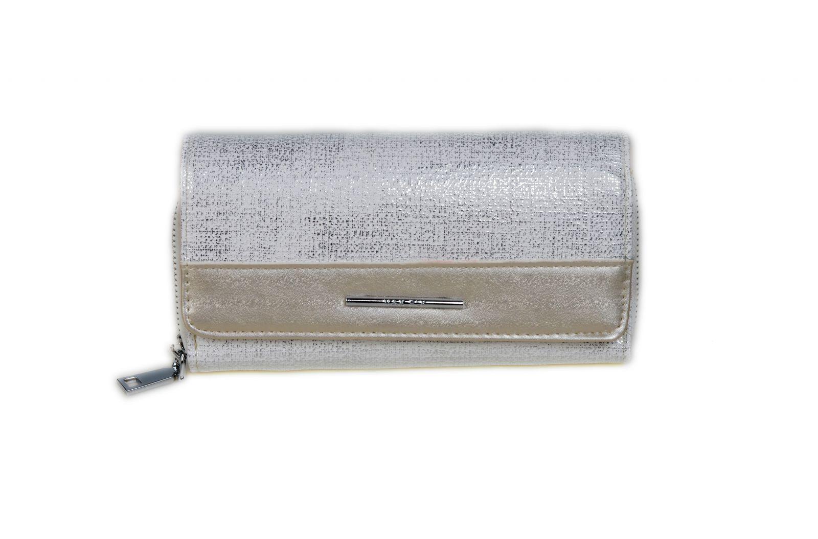 Dámská peněženka ESLEE 3010 silver E-batoh