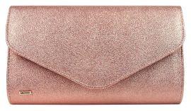 Růžová třpytivě brokátová společenská kabelka SP102 GROSSO
