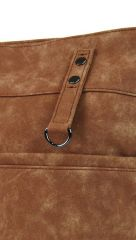 Dámská broušená crossbody kabelka 16007 hnědá Tapple E-batoh