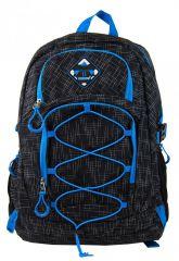 Velký batoh NEWBERRY do města / do školy HL0911 černo-modrý