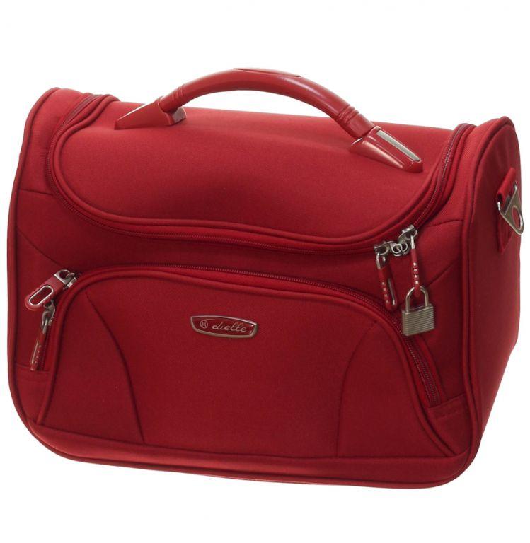 Kosmetický kufr Dielle 471-B-02 červená