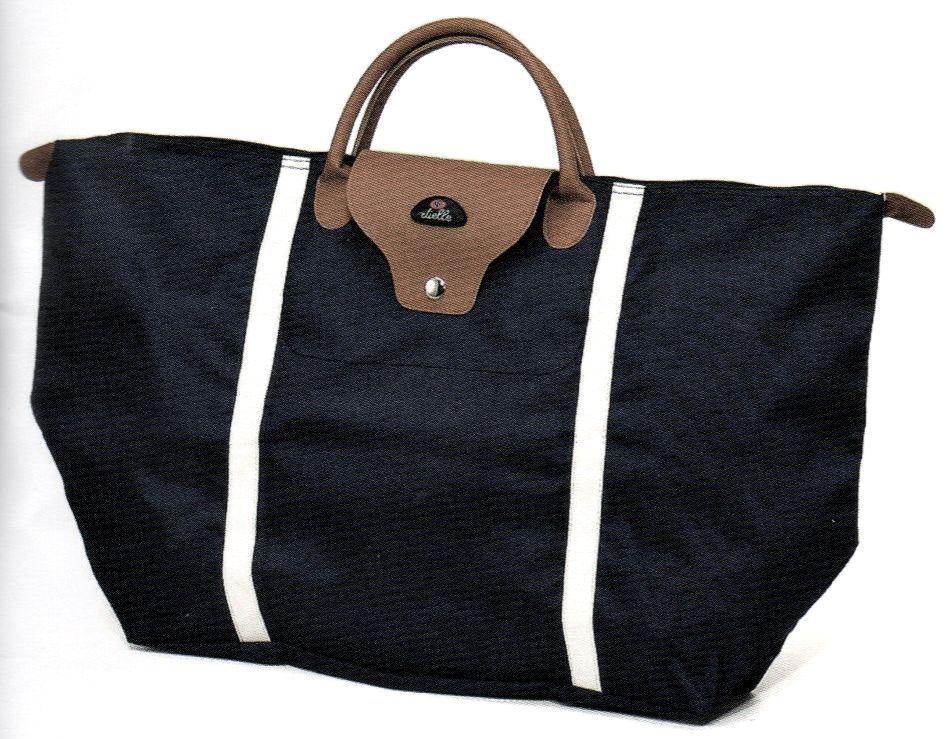 Nákupní skládací taška Dielle BS-3-01 černá